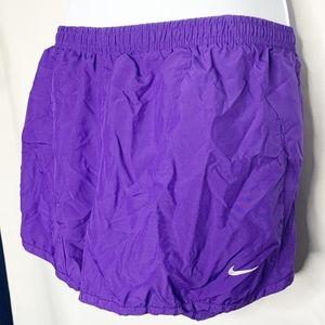 Nike purple xl workout shorts